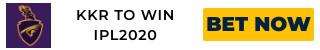 IPL2020 KKR ODDS