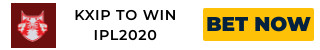 IPL2020 KXIP ODDS