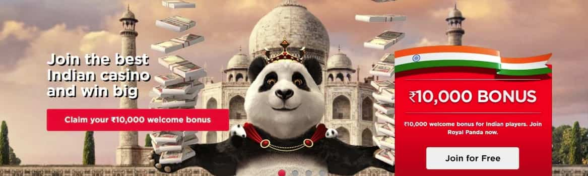 ROYAL PANDA CASINO BONUS INR