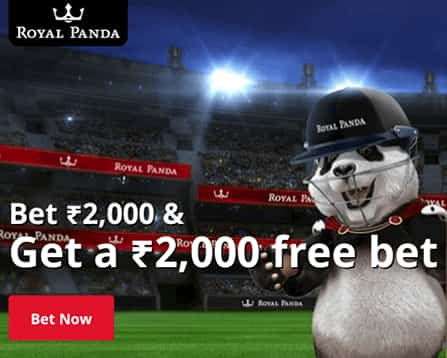 ROYAL PANDA FREE BET INR