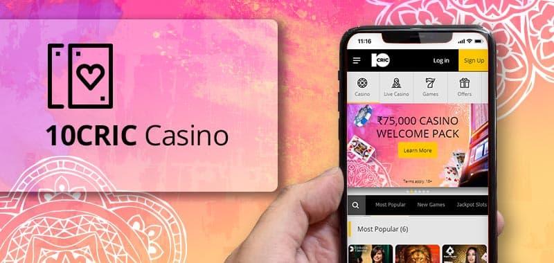 10CRIC Casino App