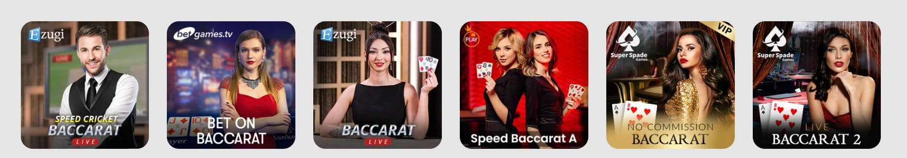 Baccarat at 10CRIC Casino