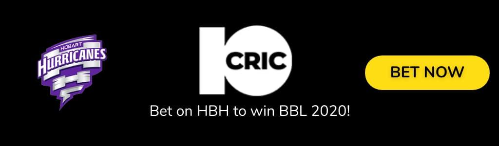 Hobart Hurricane BBL 2020