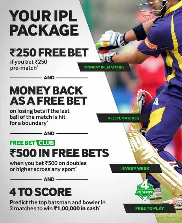 Betway IPL betting