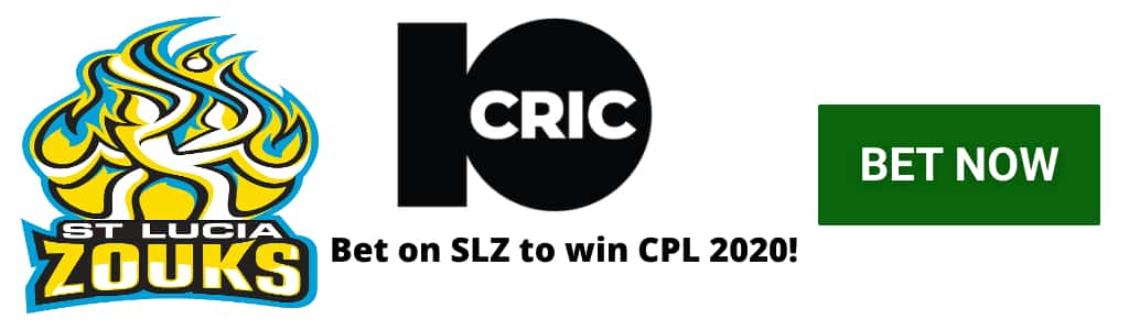 SZ CPL 2020 odds at 10CRIC