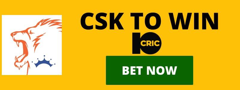 CSK IPL2020 ODDS