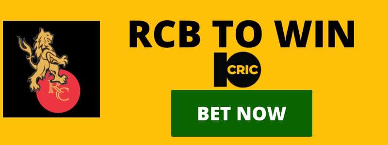 RCB IPL2020 ODDS