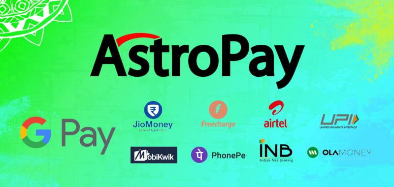 Astropay top up methods
