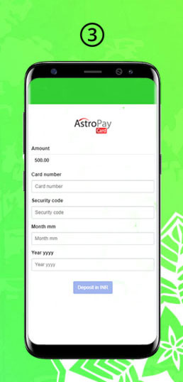 Astropay Final Step