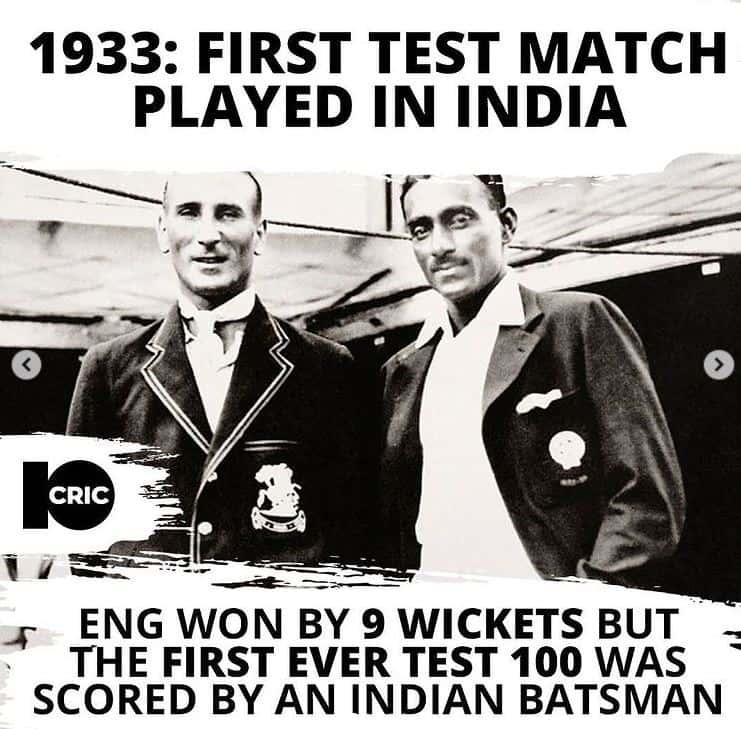 1933 India vs England 1st Test